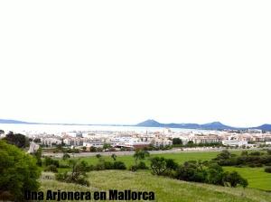 Vista de la Bahía de Pollença
